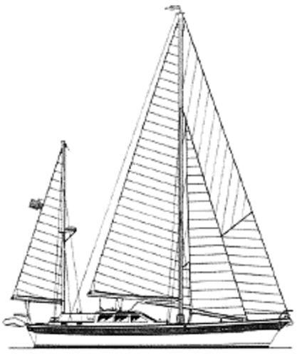 Squander - Sail Plan