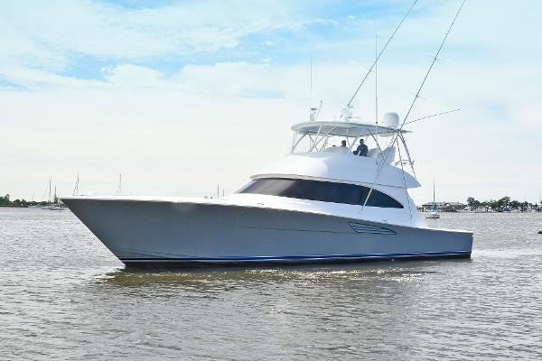 Viking 58 Convertible Port Side Bow