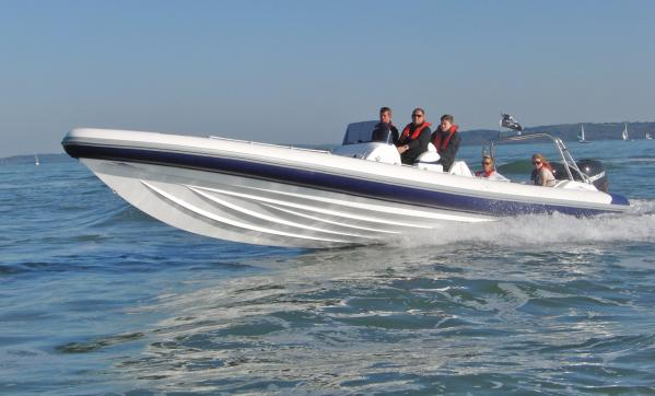 Hydromax Luxury Offshore Rib 11M