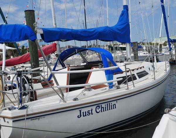 Catalina 30 tall rig, shoal draft