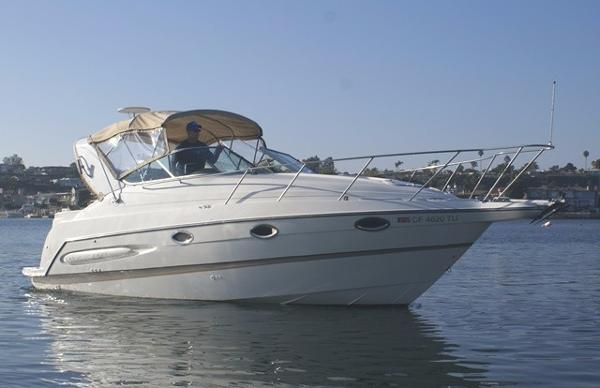 Maxum 2800 SCR Starboard Profile On the Water