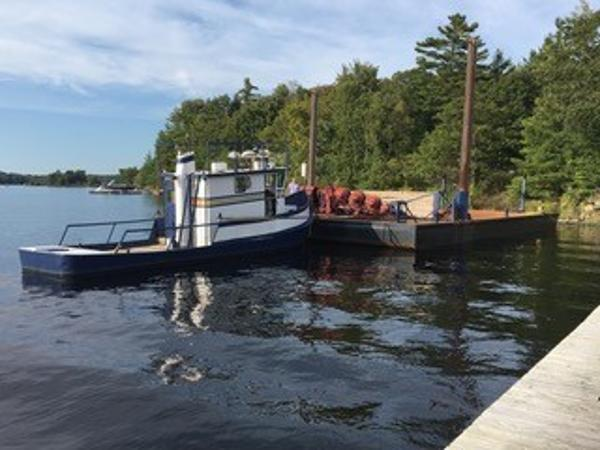 Commercial 36' Tug and 60' x 30' Barge