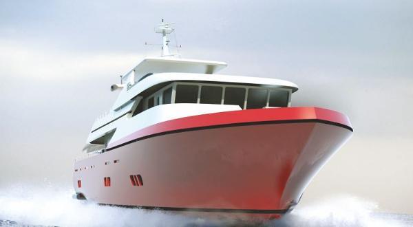 Miss Tor Yacht Trawler 100 Hull