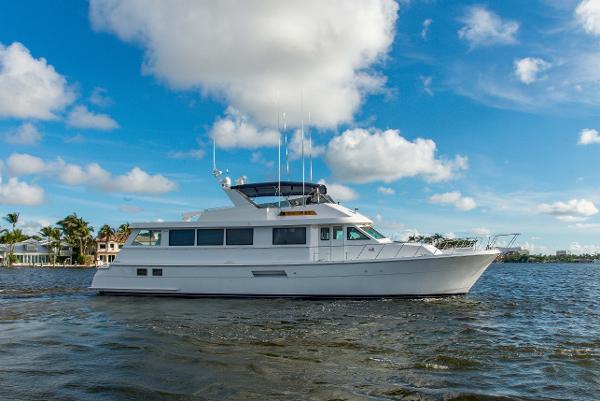 Hatteras Motoryacht Starboard Profile