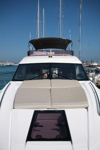 Princess 49 looking aft