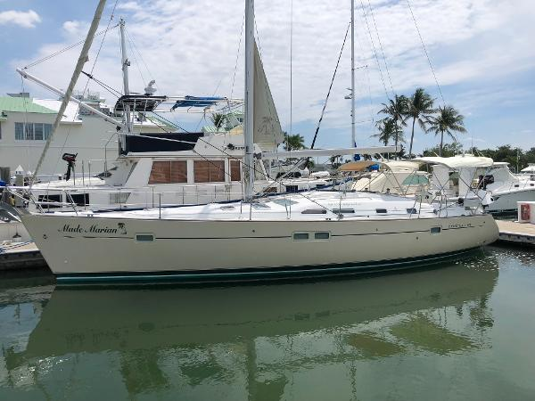 Beneteau 423 Port profile