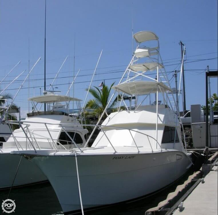 Hatteras 46 Convertible 1976 Hatteras 46 Convertible - 2005 Engines and Rebuild for sale in Kailua Kona, HI