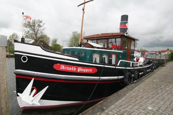 Custom Tug Dutch barge