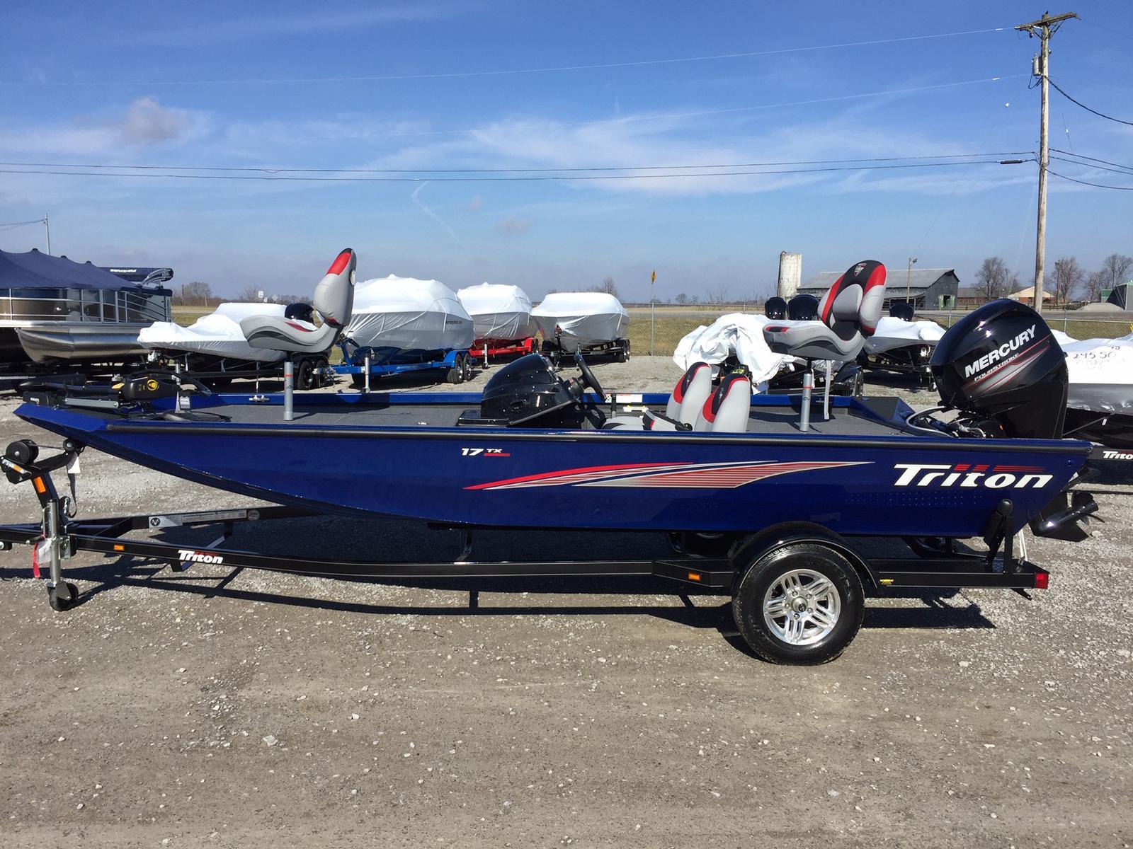Triton 17 TX 60 Mercury 4s