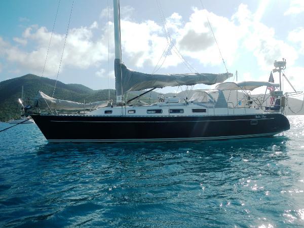 Freedom Yachts 40/40 Port Profile