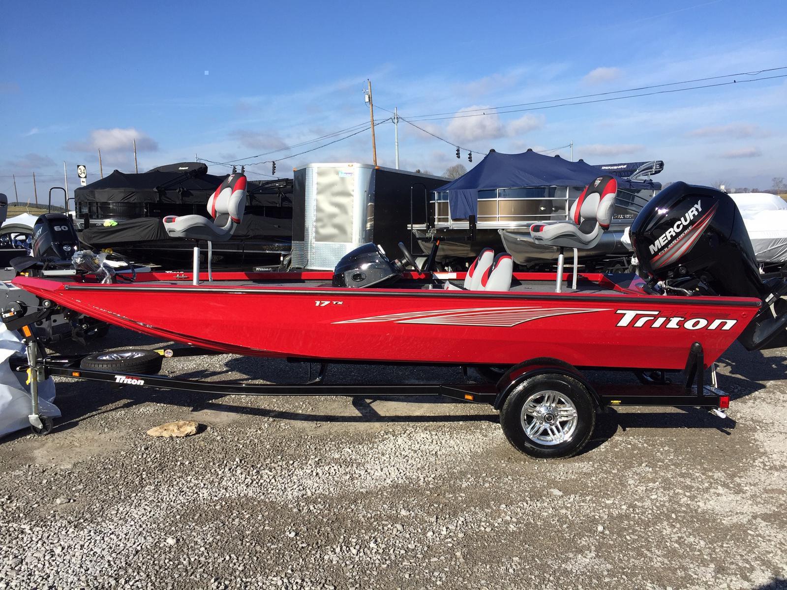 Triton 17 TX 75 Mercury 4s