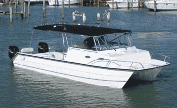 Twin Vee 36 Ocean Cat Sport Console