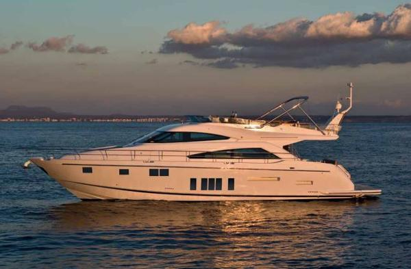 Fairline Squadron 65 Side View
