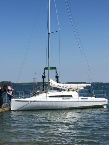 BTC 22 Trial sail craft.