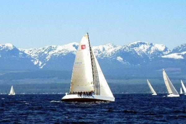 Tillotson Pearson One Design 48 Sailing in the Northwest