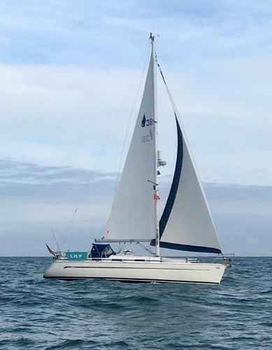 Bavaria 36 Owners photo under sail
