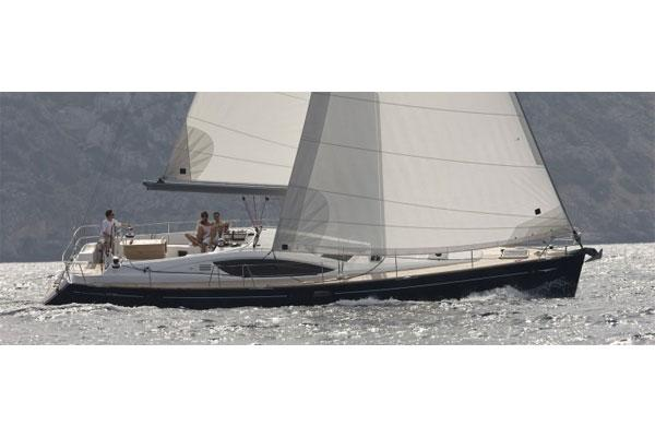 Jeanneau Sun Odyssey 50 DS Manufacturer Provided Image: Starboard Side View