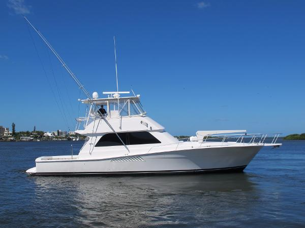 Viking 50 Conv Sport Fisher Starboard Profile