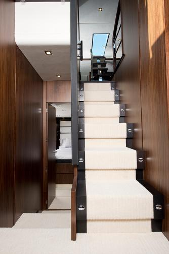 Fairline Squadron 78 Custom Interior