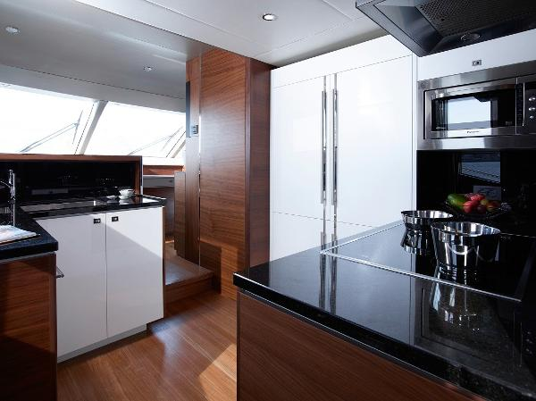 Princess Flybridge 88 Motor Yacht Galley