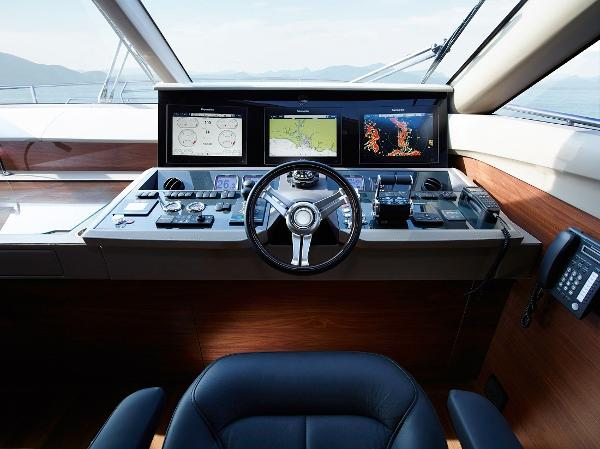 Princess Flybridge 88 Motor Yacht Helm