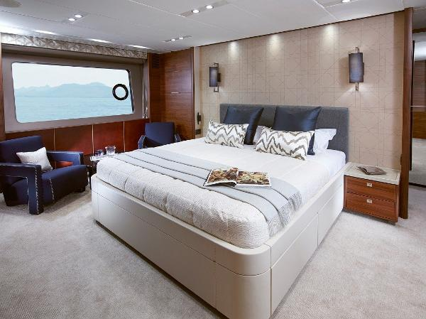 Princess Flybridge 88 Motor Yacht Owners Stateroom