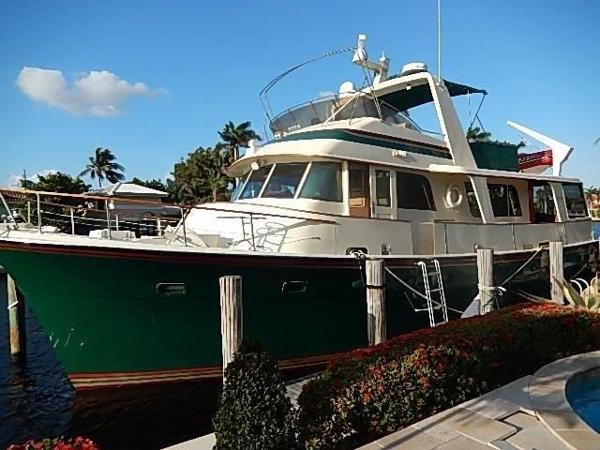 Hatteras 58 Long Range Cruiser