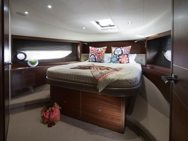 Princess Flybridge 82 Motor Yacht Forward Cabin