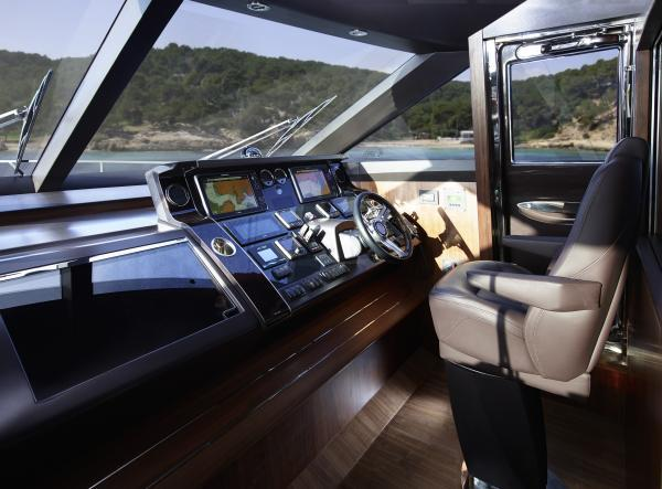Princess Flybridge 82 Motor Yacht Helm
