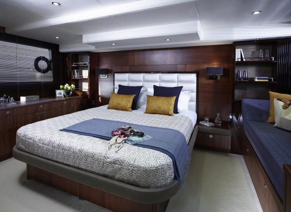 Princess Flybridge 64 Motor Yacht Owner's Stateroom