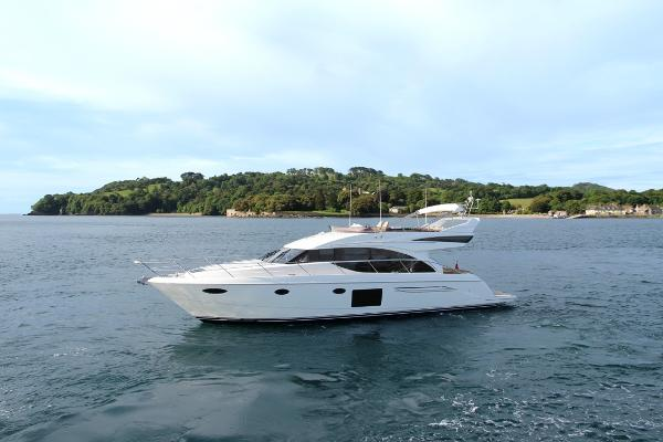 Princess Flybridge 60 Motor Yacht Side Profile