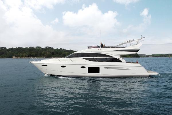 Princess Flybridge 60 Motor Yacht Side View