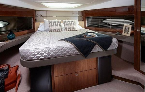 Princess Flybridge 60 Motor Yacht Forward Cabin