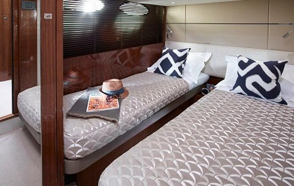 Princess Flybridge 60 Motor Yacht Starboard Twin Cabin