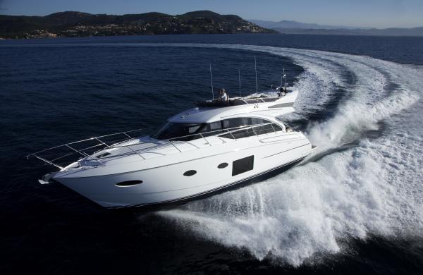 Princess Flybridge 52 Motor Yacht Manufacturer Provided Image: Princess Flybridge 52 Motor Yacht
