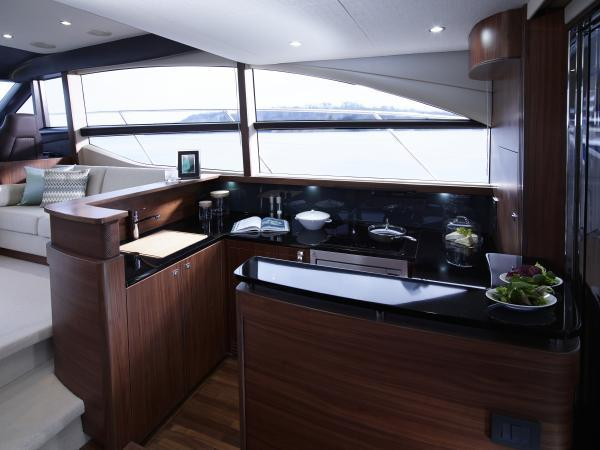 Princess Flybridge 52 Motor Yacht Galley