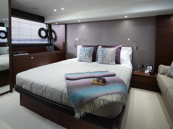 Princess Flybridge 52 Motor Yacht Owner's Stateroom