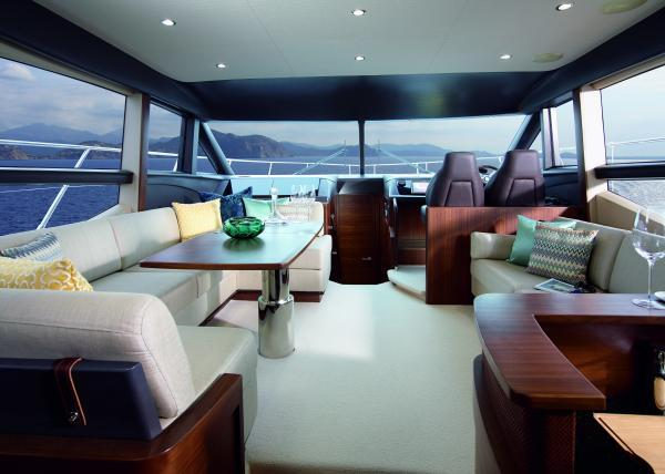 Princess Flybridge 52 Motor Yacht Saloon