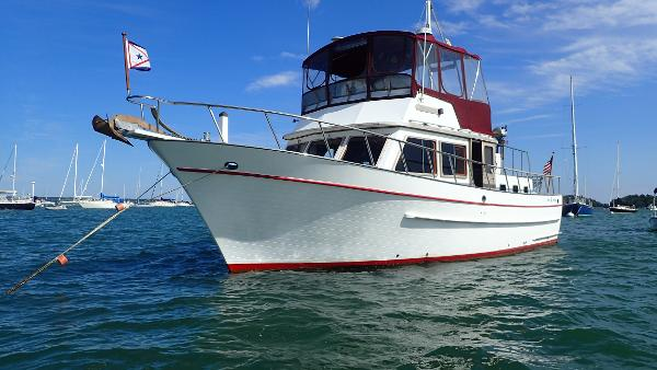 DeFever 41 Trawler Bear Holiday
