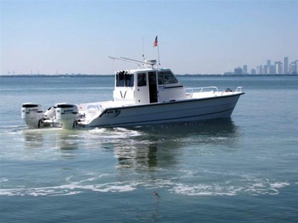 Twin Vee 36' Ocean Cat Pilot House