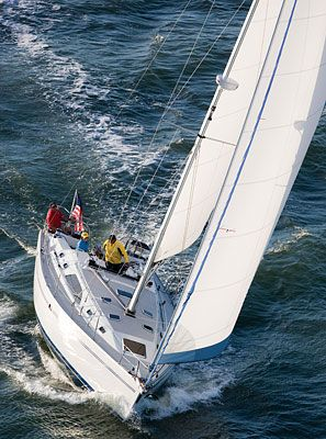 Catalina 445 Fully Equipped Under Sail