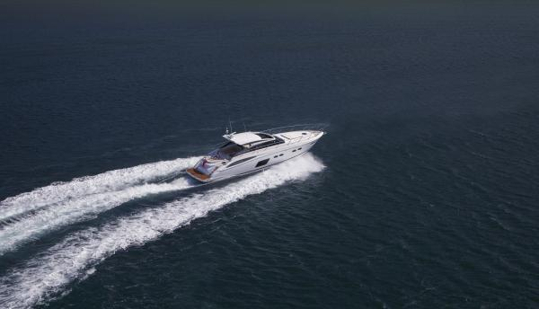 Princess V62-S View From Above