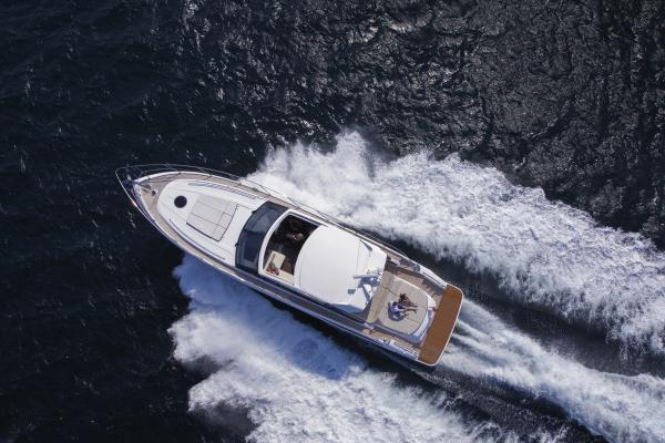 Princess V62-S Aerial Shot