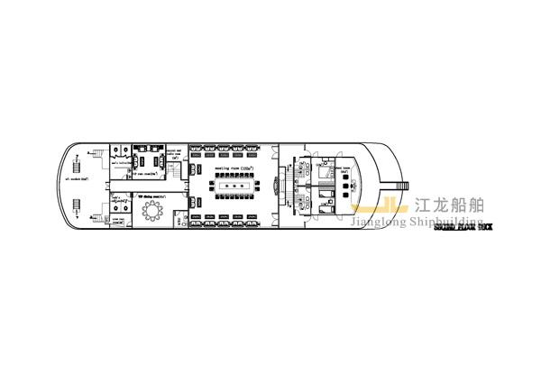 60m yacht drawing 4
