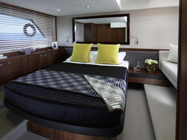 Princess V52 Owner's Stateroom
