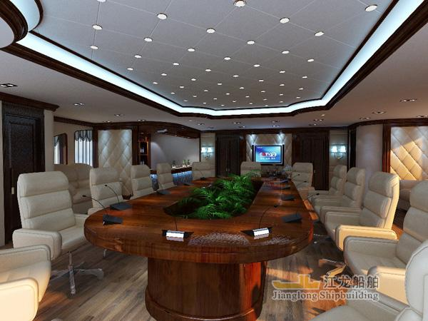35m yacht meeting room