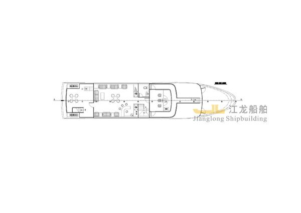 35m yacht drawing 4