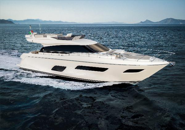 Ferretti Yachts 550 Manufacturer Provided Image: Ferretti Yachts 550