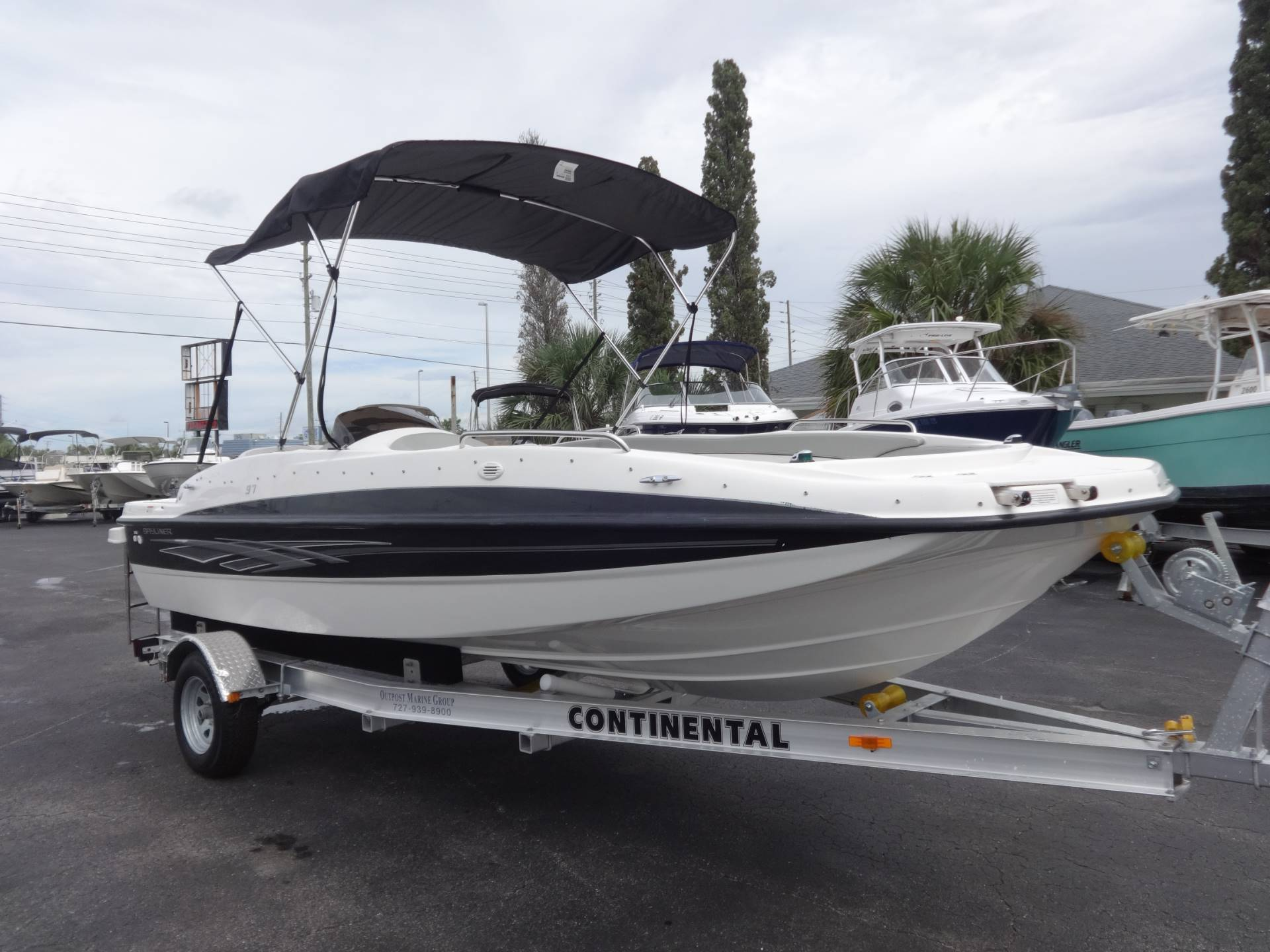 Bayliner 197 Deck Boat Boats For Sale In United States