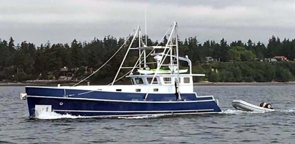 Webbers Cove 1966/2004 Custom Trawler Profile with Tender